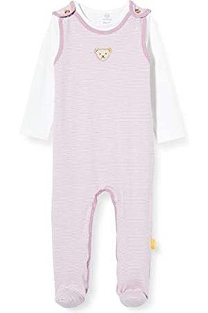 Steiff Baby-Mädchen Set Strampler + T-Shirt Bekleidungsset