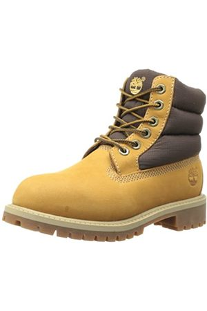 Timberland Unisex-Kinder 6 In Quilit Boot J C1790R Kurzschaft Stiefel, (Wheat Nubuck)