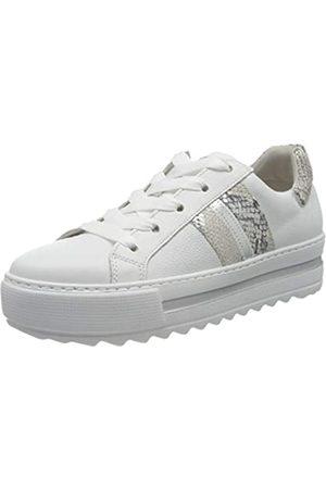 Gabor Shoes Damen Comfort Basic Sneaker, (Weiss/Creme/ 52)