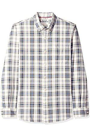 Goodthreads Amazon-Marke: Herren-Langarmshirt, schmale Passform, kariert, aus Chambray