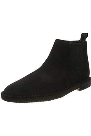 Clarks Herren Desert Chelsea Boots, (Black SDE Black SDE)