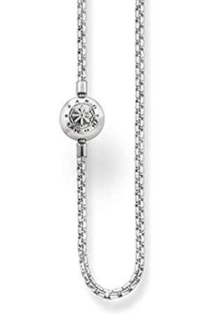 Thomas Sabo Damen-Kette Karma Beads 925 Sterling Länge 60 cm KK0001-001-12-L60