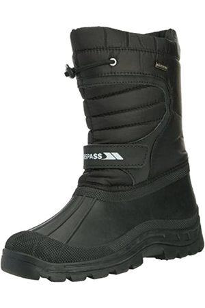Trespass Dodo, Unisex-Kinder Chelsea Boots, (Black)