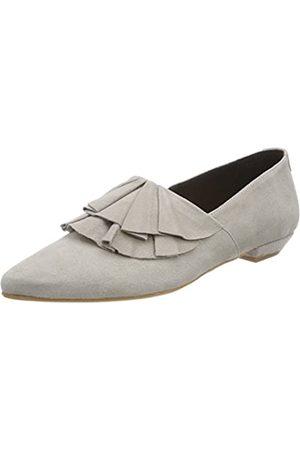 Marc O' Polo Damen Loafer 80114423201302 Geschlossene Ballerinas, (Stone)