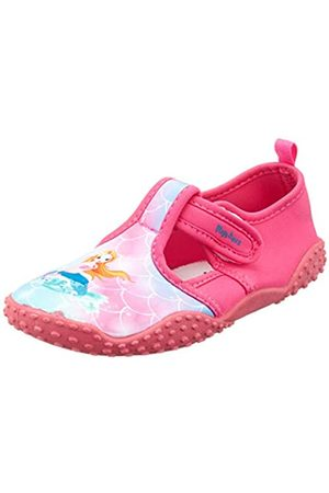 Playshoes Unisex-Kinder UV-Schutz Badeschuhe Meerjungfrau Aqua Schuhe, Pink (Pink 18)