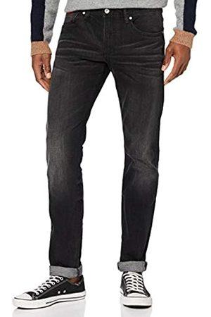 Armani Herren Black, Stone Washed Denim Slim Jeans