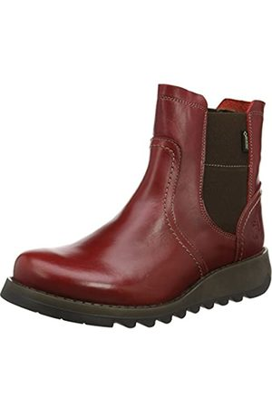 Fly London Damen Gore-TEX SCON058FLY Chelsea Boots, (Red)