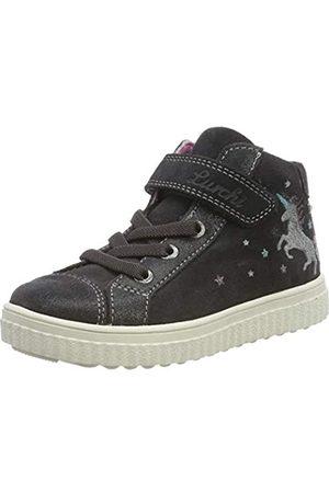 Lurchi Mädchen YUNA-TEX Hohe Sneaker, (Charcoal 25)