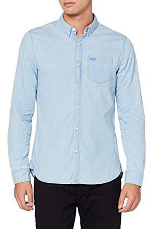 Superdry Herren Classic Twill L/S Shirt Freizeithemd