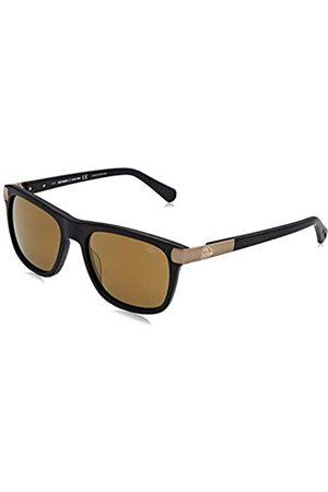 Harley davidson Herren HD2045 Sonnenbrille, (Matte Black/Brown Mirror)