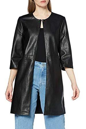 Only Damen ONLTINA Faux Leather 3/4 Coat OTW Mantel