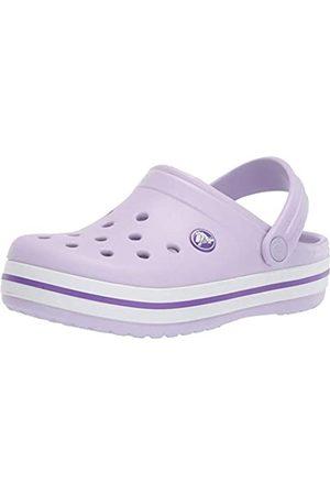 Crocs Unisex-Kinder Crocband Clogs, (Lavender/Neon 5p8)