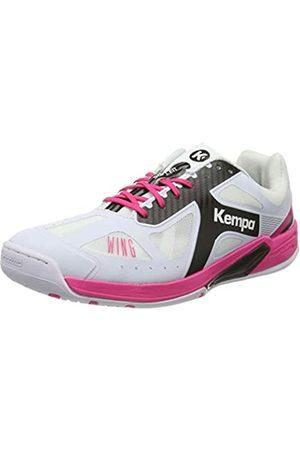 Kempa Damen Wing LITE Women Handballschuhe, (Blanco/Negro/Fucsia 000)