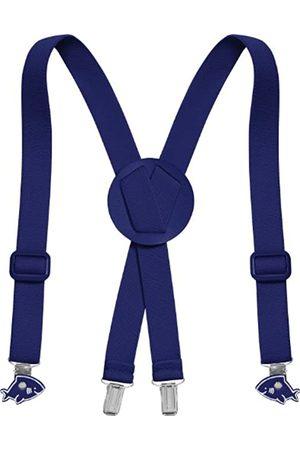 Playshoes Unisex - Kinder Hosenträger 603020 Modische Hosenträger für Kinder mit Clips in Haiform