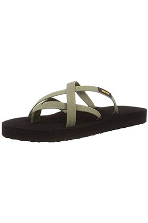 Teva Damen Olowahu Sandal Womens Pantoffeln, (Burnt Olive Btol)