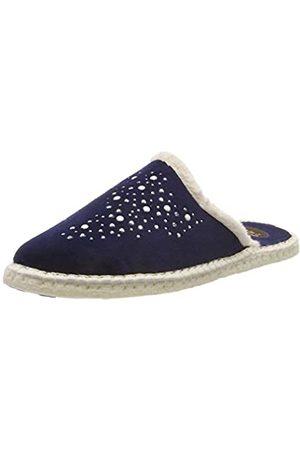 Macarena Damen ISASA72-AM TERCIOPELO Pantoffeln, (Marin)