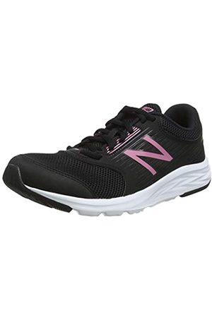 New Balance Damen 411 Laufschuhe, (Black Pink)
