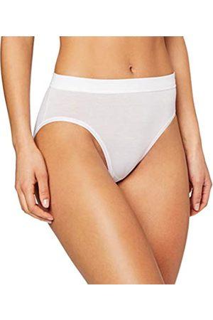 HUBER Damen Unterhose Soft Comfort Midi Slip, (Weiss 010500)
