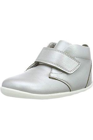 Bobux Mädchen SU Ziggy Hi Top Hohe Sneaker, (Silver)