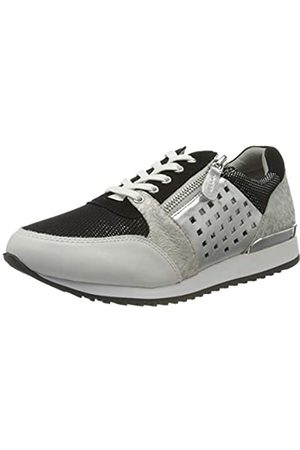 Caprice Damen Ginga Sneaker, (Black/White 15)