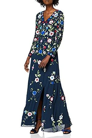 Frock and Frill Damen Julieta Embellished Long Sleeve Maxi Dress cocktailkleid