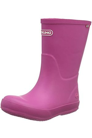 Viking Unisex-Kinder CLASSIC INDIE Gummistiefel, Pink (Fuchsia 17)