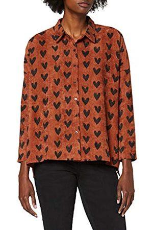 Compañía fantástica Damen Camisa 0/0 Shirt Hemd
