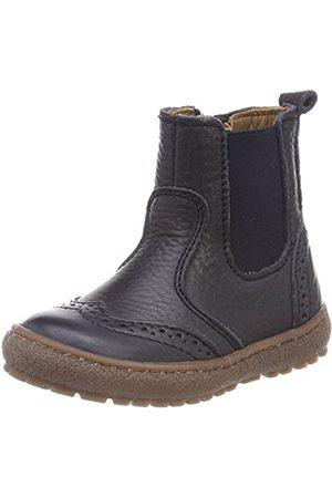 Bisgaard Unisex-Kinder 50702218 Chelsea Boots, (608 Navy)