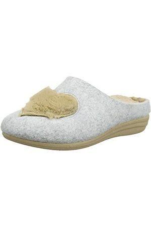 Macarena Damen GEMA52-AM Arlet Pantoffeln, (Gris/Camel Gris/Camel)