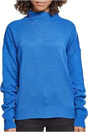 Urban classics Damen Ladies Oversize Turtleneck Sweater Sweatshirt
