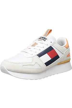 Tommy Hilfiger Damen WMNS Lifestyle Runner Sneaker, (White Ybs)