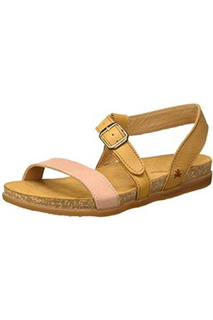 El Naturalista Damen N5245 Multi Leather Zumaia Peeptoe Sandalen, (Curry Mixed Curry Mixed)