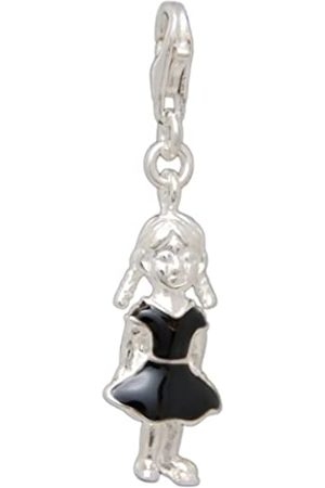 Melina Damen-Charm Anhänger Girl 925 Sterling Silber 1801146