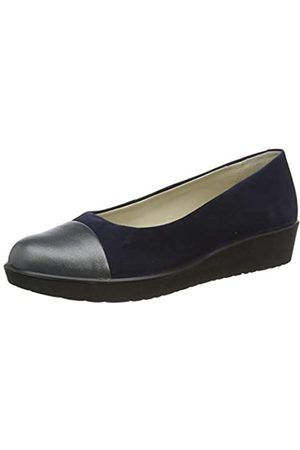 Hotter Damen Angel Ballerinas, Paradise-Platinum