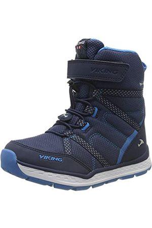Viking Unisex-Kinder SKOMO GTX JR Schneestiefel, Navy/Blue