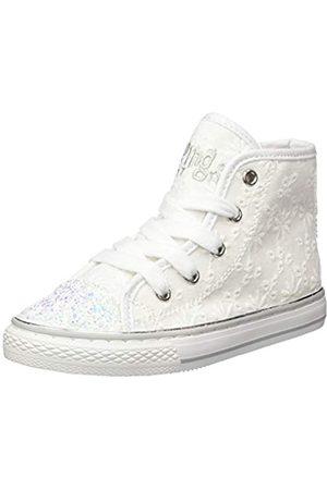 Primigi Mädchen ALTA Bambina Hohe Sneaker, Elfenbein (Bianco 5457800)