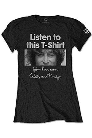 John Lennon Damen Listen T-Shirt