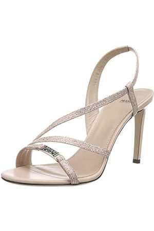 HUGO BOSS Damen Mayfair 90-L Slingback Sandalen, Pink (Peach Whip 694)