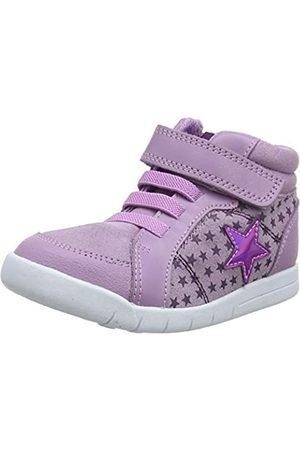 Clarks Mädchen Emery Beat T Hohe Sneaker, (Lavender Suede Lavender Suede)