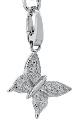 Burgmeister Damen-Charm Schmetterling 925/-Sterling Silber rhodiniert