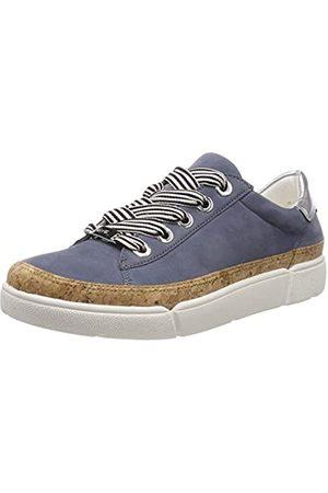 ARA Damen ROM 1214404 Sneaker, (Jeans, Natur/ 06)