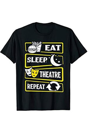Sorry I Can't I have an Audition Actor Singer Tees Eat Sleep Theatre Repeat Acting Actor Actress Theater Play T-Shirt