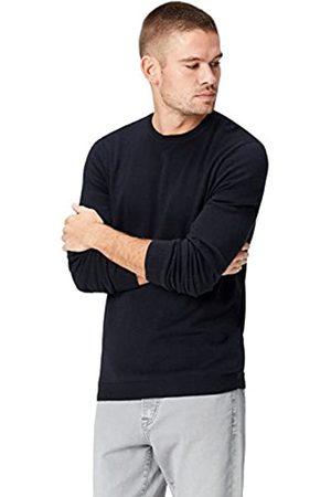 FIND Pullover Herren meliert, mit körpernaher Passform