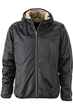 James & Nicholson Herren Jacke Jacke Winter Sports Jacket (Black/Camel) X-Large
