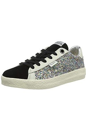 Pepe Jeans London Mädchen Portobello Stars Sneaker, (Black 999)