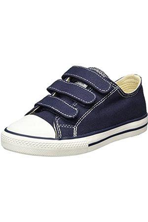 victoria Unisex-Kinder Zapato Basket Velcros Sneakers, (Marino)