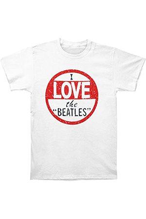 Rockoff Trade Herren I Love The Beatles Vintage T-Shirt