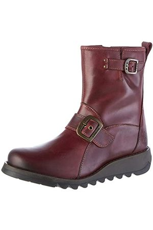 Fly London Damen Sino525fly Kurzschaft Stiefel, (Purple 002)