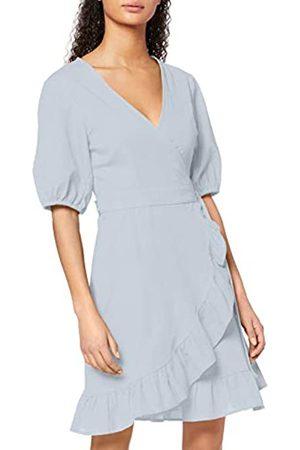 FIND Amazon-Marke: Damen Mini-Wickelkleid aus Baumwolle, 44