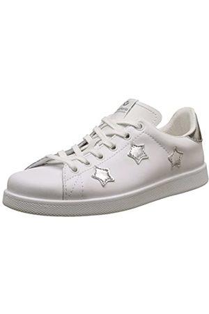 victoria Damen Deportivo Basket Aplicacion Estrellas Sneakers, (Plata)